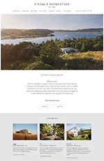 Sample Website - Unique Home Stays